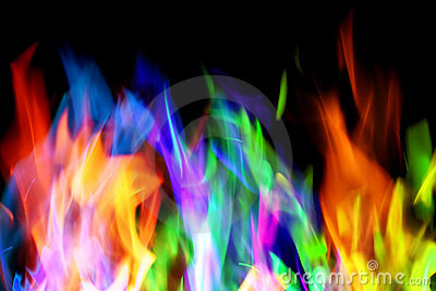 3d Animation Wallpaper Download Colorful Flames Stock Image Image 4786951