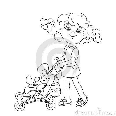 Baby Buggy Coloring Coloring Pages