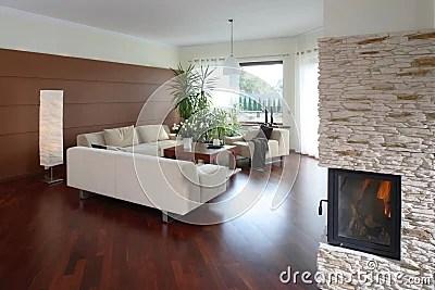 Comfortable Modern Living Room Stock Photo  Image 2541150