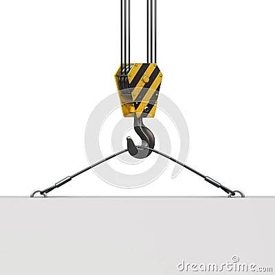 Crane Hook Stock Photo  Image 22840830