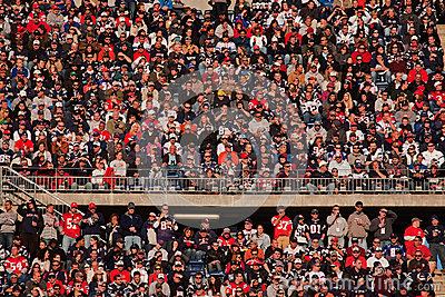 Crowd At Patriots Game Editorial Stock Image  Image 26129429