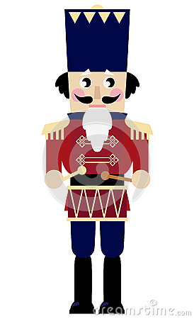 Stock Images Cute Retro Nutcracker Image 27802144