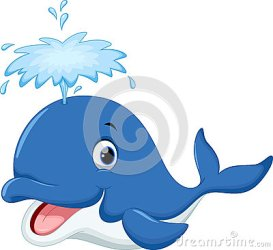 whale cartoon cute illustration whales dolphin clipart clip painting vector ocean drawings ad faux drawing shutterstock greetings morning animal dreamstime