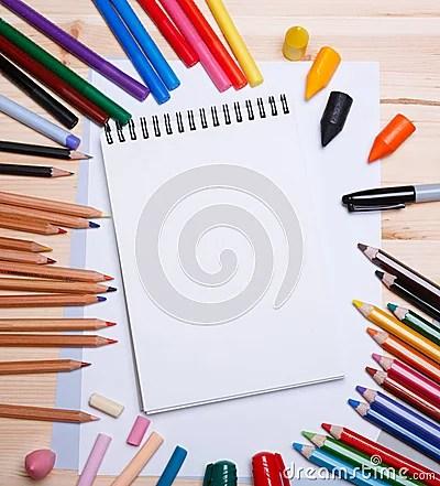 Drawing Materials Stock Photo Image 59141647