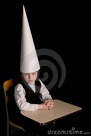 Dunce Cap Stock Photography  Image 4281292