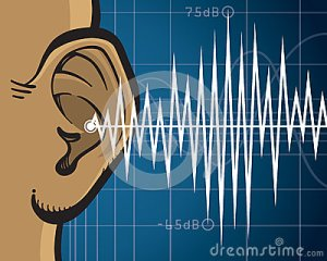 Ear Sound Waves Stock Vector  Image: 40358790