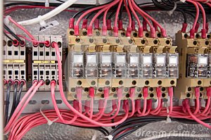 Electrical Wiring Control Panel Diagram Royalty Free Stock Image  Image: 31168876