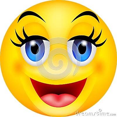 Emoticon Divertente Di Sorriso Immagini Stock Libere Da