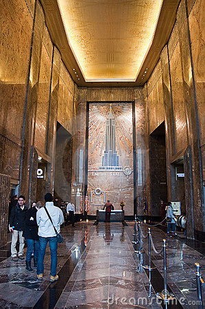 Empire State Building Interior Editorial Photography  Image 23212497