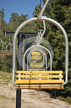 ski lift chairs for sale xenon office chair empty in a row royalty free stock photos - image: 26248698