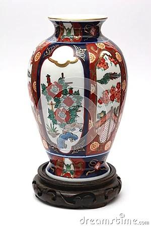 Expensive China Vase Stock Photo  Image 4126920