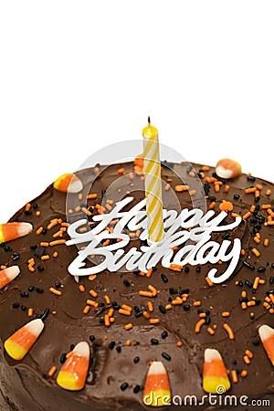 Orange Fall Wallpaper Fall Birthday Cake Royalty Free Stock Photos Image 3431028