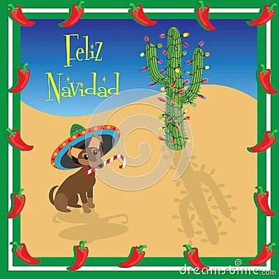 Feliz Navidad Chihuahua Royalty Free Stock Images Image