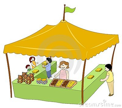 booth table for kitchen reno food & beverage tent royalty free stock photos - image ...