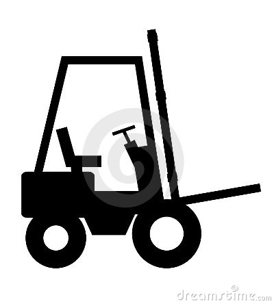 Forklift Royalty Free Stock Images - Image 1764199