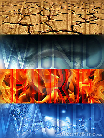 Four Elements Royalty Free Stock Photo  Image 15635805