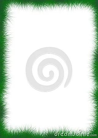 Fuzzy Green Border Stock Image Image 4538941