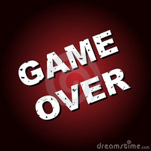 Game Over Background Royalty Free Stock Photography  Image: 13392897