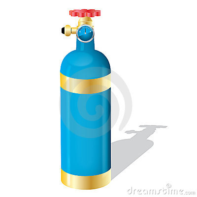 Gas Cylindervector Stock Image  Image 16912921
