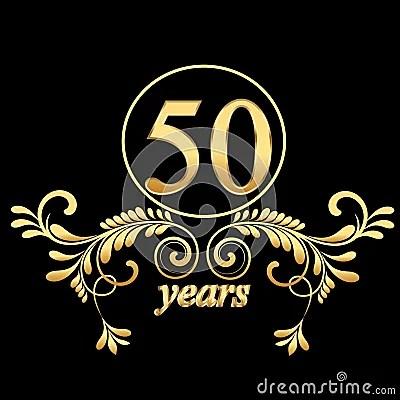 Gold 50 Jahre Stockfotos  Bild 23596303