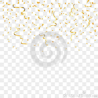 Falling Stars Gif Wallpaper Gold Confetti Background Stock Vector Image 78815775