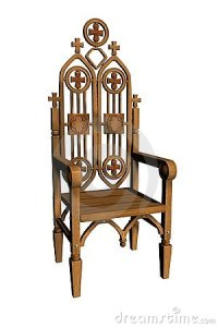 Gothic Chair 1 Royalty Free Stock Photos - Image: 1969438