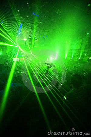 Wallpaper Desktop 3d Animation Green Night Club Party Background Stock Photos Image