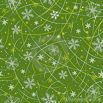 Green Wrapping Christmas Paper Stock Photography Image