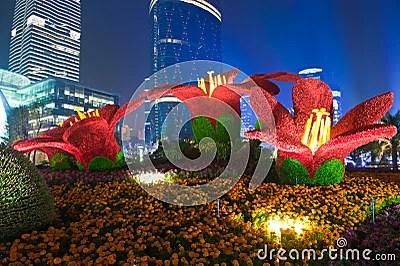 3d Designs Wallpaper Hd Guangzhou Flower City Plaza Editorial Photo Image 16983901