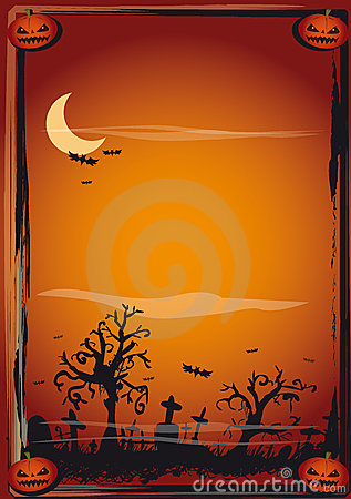 Halloween Poster Royalty Free Stock Photo  Image 10932455
