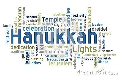 Hanukkah Word Cloud Stock Photos Image 21538553