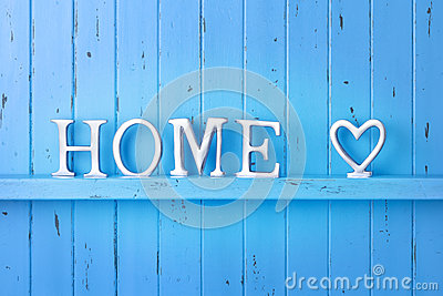 Baby Girl Bedroom Wallpaper Home Love Blue Background Stock Photo Image 46747096