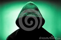 Hooded Man With Face In Shadow Stock Images - Image: 38259264