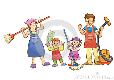 Housework Stock Photo Image 32128250
