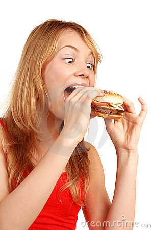 Hungry Girl Royalty Free Stock Photo  Image 1490195