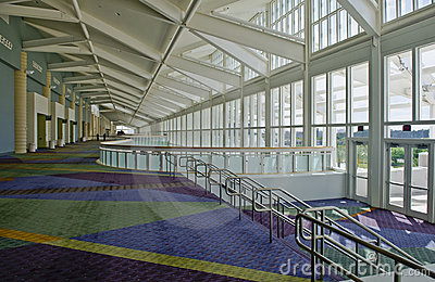 Inside Convention Center Stock Images Image 5182414