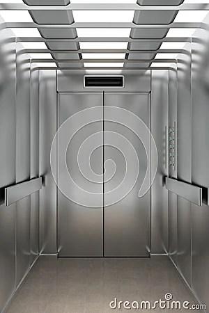 Inside An Elevator Royalty Free Stock Image  Image 23650186