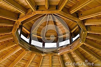 Inside Gazebo Roof Stock Photography Image 5790972