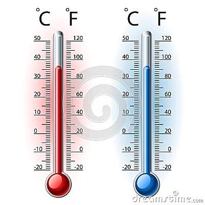 Insieme Del Termometro Fotografie Stock  Immagine 28950723