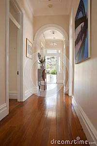 Interior Hallway Entrance Doorway Royalty Free Stock ...