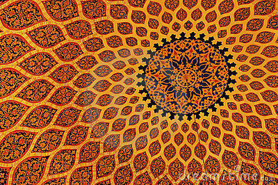 Wallpaper Hd Floral Islamic Texture Stock Photo Image 2160680