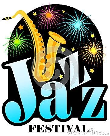 jazz festival saxophone ai stock