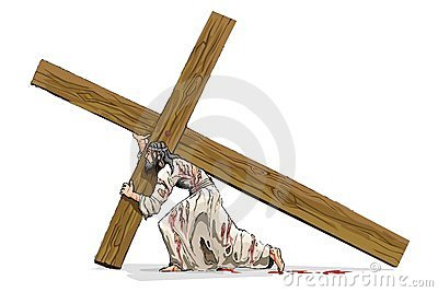 Jesus Christ Carrying Cross