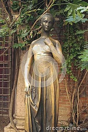 Juliets Statue Verona Italy Stock Image  Image 10139721