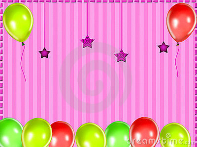3d Rainbow Wallpaper Download Kids Party Background Royalty Free Stock Image Image