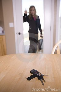 Locked Out Of House Royalty Free Stock Photo - Image: 13558555