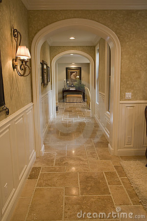 Luxury Home Hallway Royalty Free Stock Image  Image 3578476