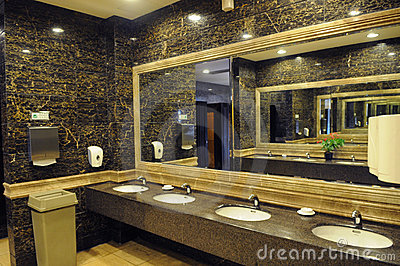 Luxury Hotel Public Toilet Royalty Free Stock Photos  Image 6117318