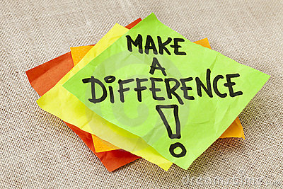 make difference reminder royalty