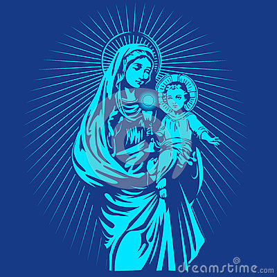 Holy Cross 3d Wallpaper Mary Mother Of Jesus Stock Vector Image 71699275